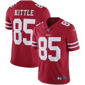 Men's San Francisco 49ers George Kittle 100 Jersey